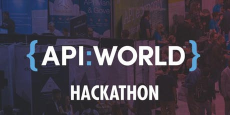 API World 2019 Hackathon tickets
