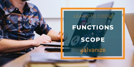 CANCELLED: Learn to Code: Functions & Scope tickets