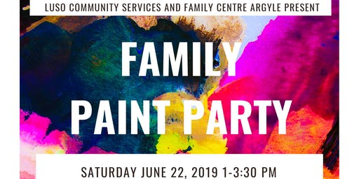 Family Paint Party