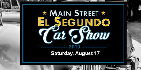 2019 Main Street El Segundo Car Show tickets