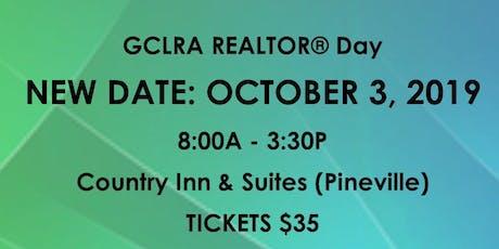 2019 GCLRA REALTOR® DAY tickets