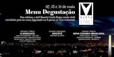 VISTA Restaurante - Menu Degustação TERÇA 21/05