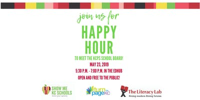 Happy Hour to meet the KCPS School Board!