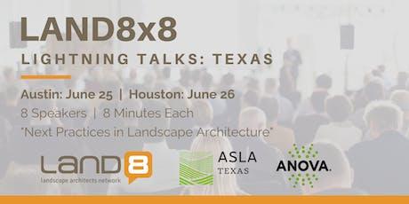 Land8x8 Lightning Talks: Austin tickets