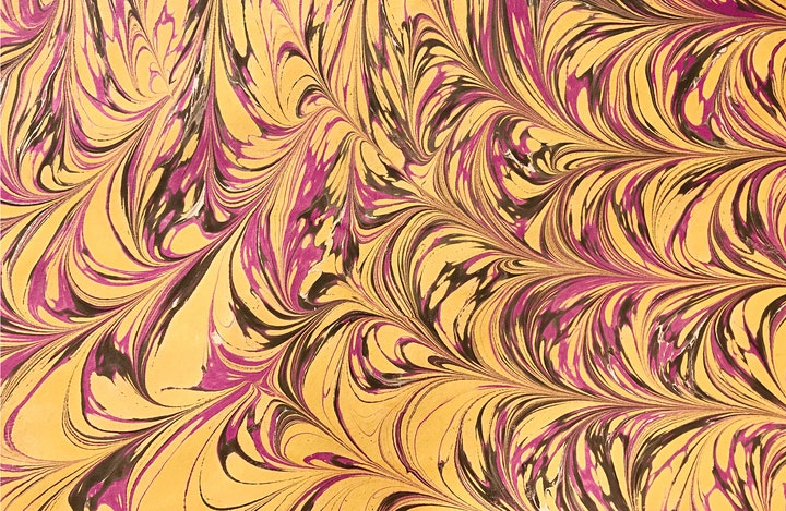 Paper Marbling with Tea & Cake 25/04/20 image