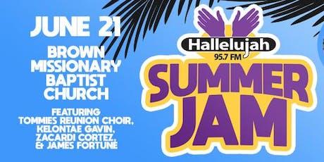 Hallelujah FM Summer Jam 2019 tickets