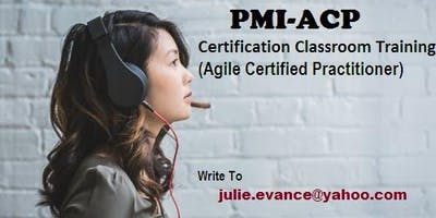 PMI-ACP Classroom Certification Training Course in Montpelier, VT