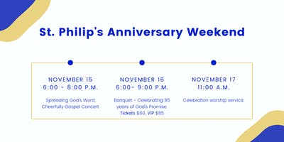 Let's Celebrate. 85 years of our love of JESUS!