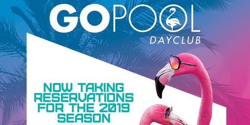 GO Mondays at Flamingo GO Pool - FREE GUESTLIST