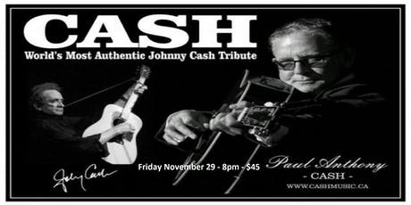 Cash - Most Authentic Johnny Cash Tribute tickets