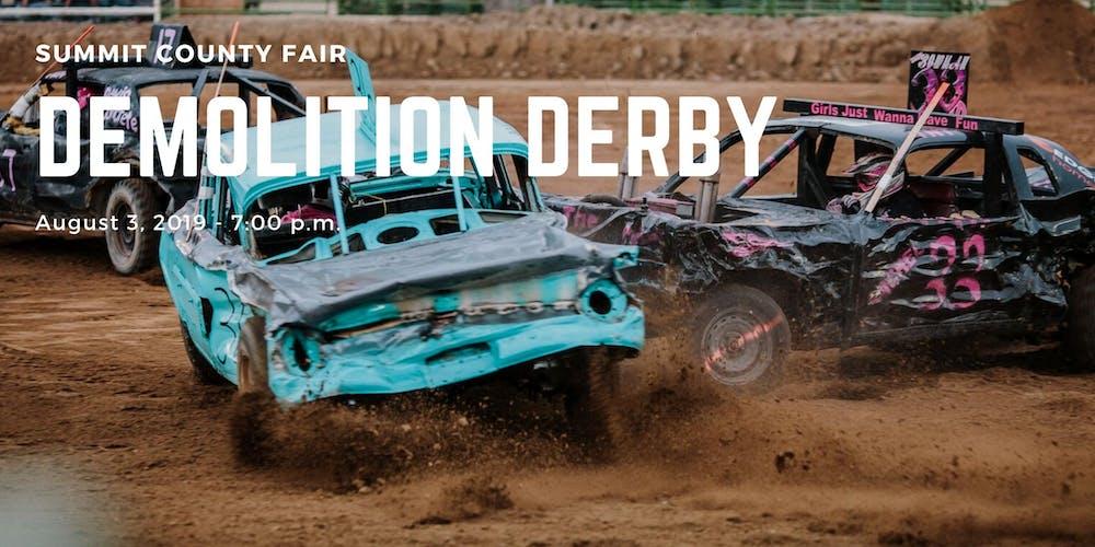 248dfb24d Demolition Derby 2019 Tickets, Sat, Aug 3, 2019 at 7:00 PM | Eventbrite