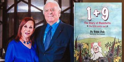 """Bobbi **** discussing """"1+9: The Story of Blanchette"""" at Books & Books!"""