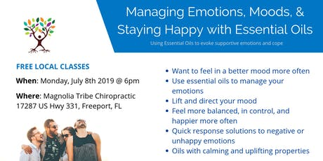 Managing Emotions, Moods, & Staying Happy with Essential Oils tickets