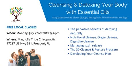 Cleansing & Detoxing Your Body with Essential Oils tickets