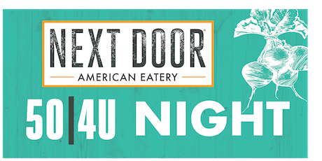 International School of Indiana Parent Association 25/4U Night at Next Door in Indy tickets