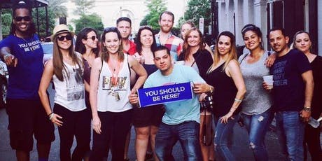 New Orleans Drunk History Tour (Multiple Daily tour options on weekends)  tickets
