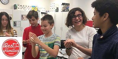 Middle School Open House -- Feynman School May 15, 2019