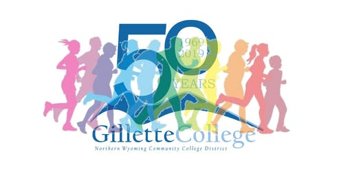 50th Birthday Foamy 5K - Gillette College 50th Anniversary