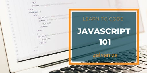 CANCELLED: Learn to Code: JavaScript 101