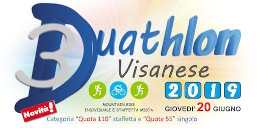 3° DUATHLON VISANESE - 2019