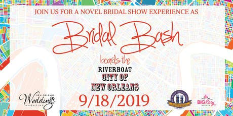 Bridal Bash boards the Riverboat City of New Orleans tickets