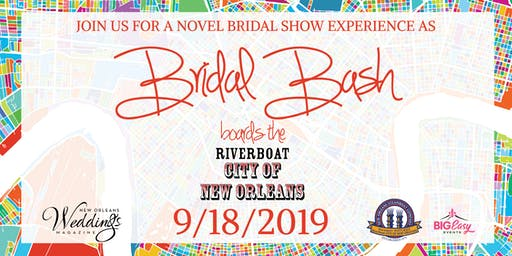 Bridal Bash boards the Riverboat City of New Orleans