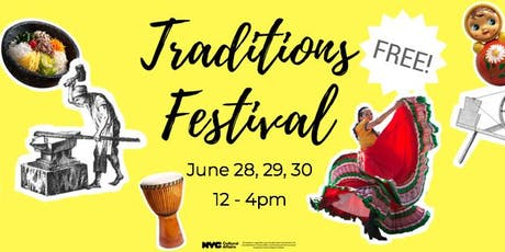 Traditions Festival at King Manor tickets