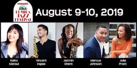 Ferrario Elmira Jazz Festival 2019 tickets