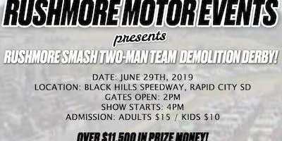 Rushmore Smash Demolition Derby