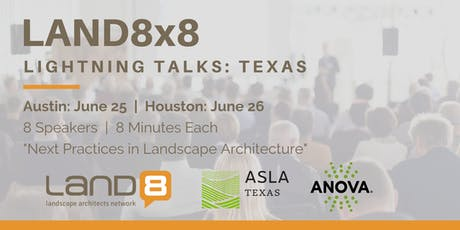 Land8x8 Lightning Talks: Houston tickets