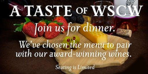 A Taste of WSCW
