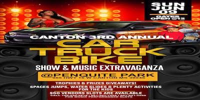 VIBES & CARS: 3RD ANNUAL  CAR, TRUCK, BIKE SHOW & MUSIC FESTIVAL