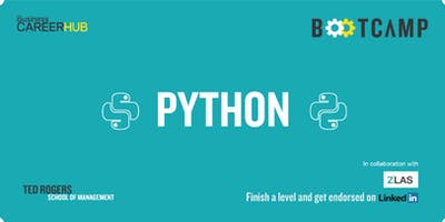 Python Bootcamp Level 1