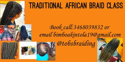 Traditional African Braid Class: Increase speed an