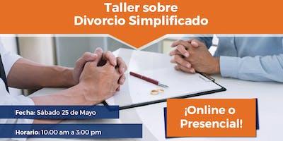 Taller Sobre Divorcio Simplificado