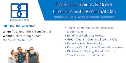Reducing Toxins & Green Cleaning with Essential Oils