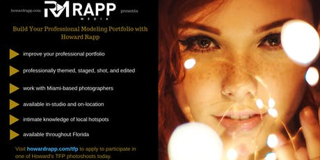 Build Your Professional Modeling Portfolio Tickets, Multiple
