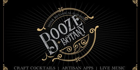 Booze & Botany 2019 tickets