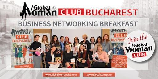 GLOBAL WOMAN CLUB BUCHAREST: BUSINESS NETWORKING BREAKFAST - AUGUST