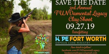 FUNDamental Legacy Clay Shoot tickets