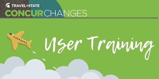 Concur User Training