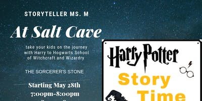 Harry Potter Story Time in Salt  Cave with Halotherapy