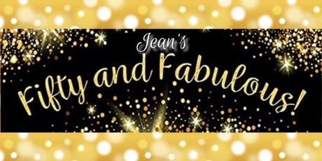 Jean's Surprise Fifty and Fabulous Birthday Celebration tickets