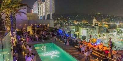 Labor Day Weekend Pool Party at W Hollywood Rooftop Free Guestlist - 8/31/2019