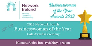 2019 Network Ireland Louth Businesswoman of the Year...
