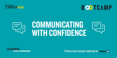 Communicating with Confidence Bootcamp