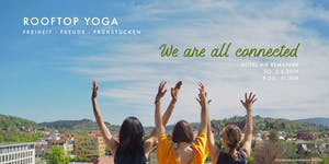 Rooftop Yoga | We are all connected