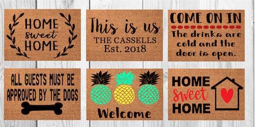 Harvest Ridge Second Doormat Workshop