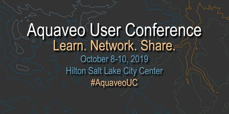 Aquaveo User Conference 2019 boletos