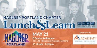 NAGLREP Portland Lunch & Learn May 21